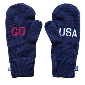 Olympic Mittens Navy Blue NWT